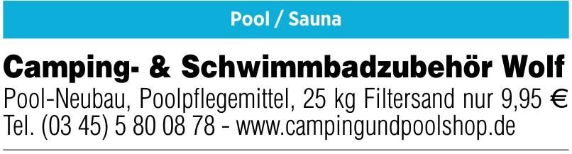 Camping- & Schwimmbadzubehör Wolf