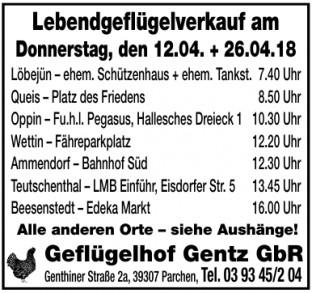 Geflügelhof Gentz GbR