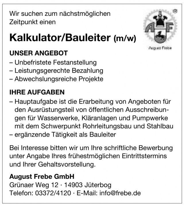 August Frebe GmbH