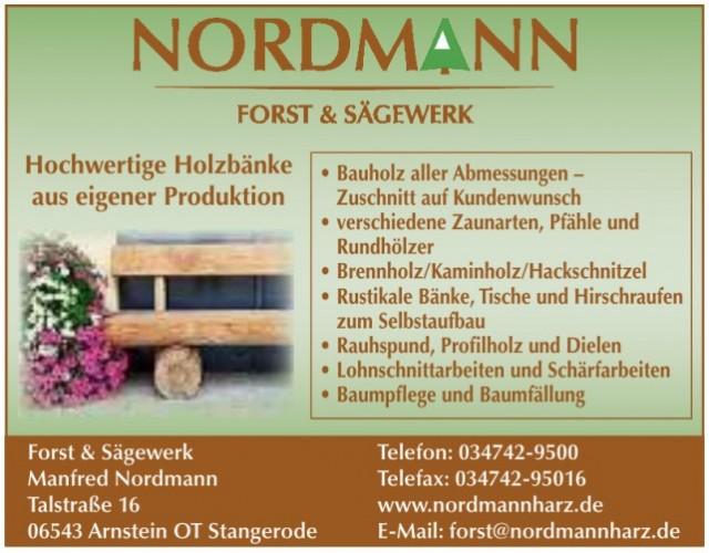 Forst & Sägewerk Manfred Nordmann
