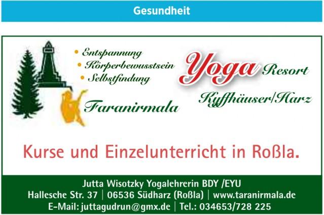 Jutta Wisotzky Yogalehrerin BDY /EYU