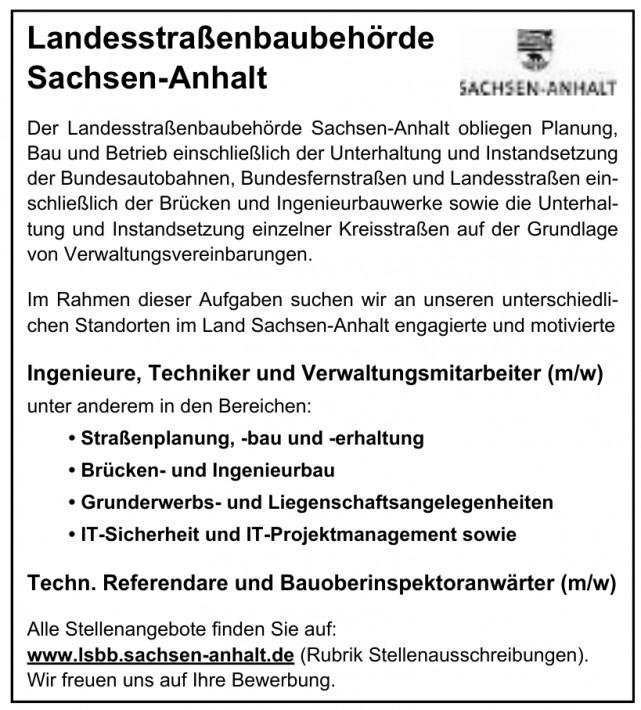 Landesstraßenbaubehörde Sachsen-Anhalt